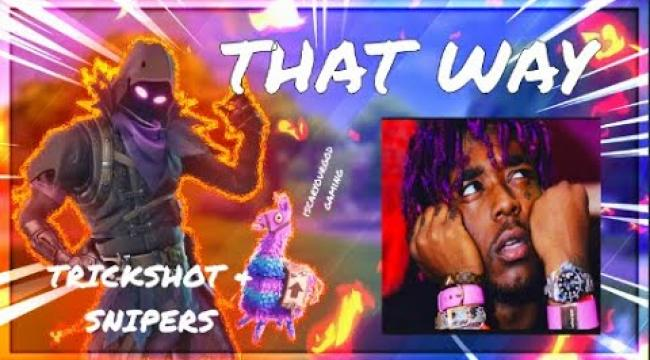 "Embedded thumbnail for Fortnite Montage - ""THAT WAY"" (Lil Uzi Vert) (Trickshots,Sniper, Syncing to the music all in one)"